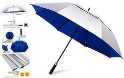 68inch Golf Umbrella UV Protection Extra Large Oversized Hea