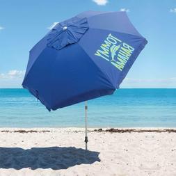 Tommy Bahama 7 1/2' Beach Umbrella w/ Tilt, Blue