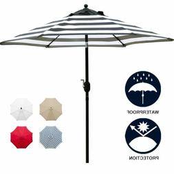 Sunnyglade 7.5' Patio Umbrella Outdoor Table Market Umbrella