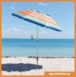 Tommy Bahama 7 ft Beach Umbrella 2018 Collection - Multicolo