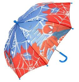 Marvel Spiderman Blue Red 8 Panel 70cm Umbrella for Kids Boy