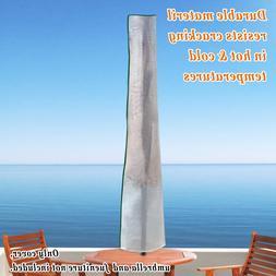 76''L Straight Table Patio Umbrella Protective Cover Outdoor