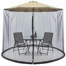 9/10FT Umbrellas Patio Screen With Mosquito Net Camping Tent