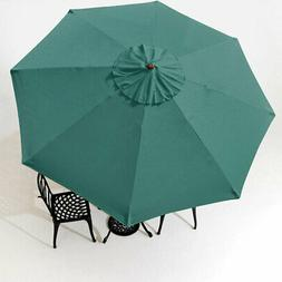 9' 8 Ribs Umbrella Canopy Replacement Patio Top Cover Market