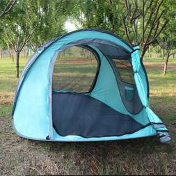 96x59x41in Beach Umbrella Sun Shade Tent Family Camping Spor