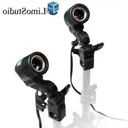 LimoStudio 2 Pcs Photography Studio AC Socket Light Stand Mo