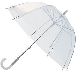 "Lot of 12 - 32"" Children Kid Clear Dome Umbrella - RainSto"