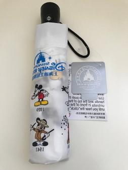 Shanghai Disney Resort Self Opening Umbrella Mickey Through