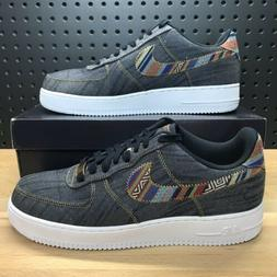 Nike Air Force 1 One Low '07 LV8 Afro Punk Denim Jeans Obsid