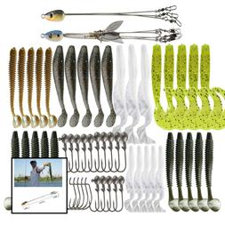 Alabama Rig Umbrella Kit W 5 Arm 3 For Salwater Stripers Bas