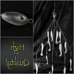Alabama/Umbrella Rig    5 Wire 13 baits total!! High Quality