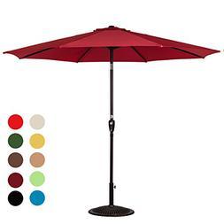Sundale Outdoor 10 Feet Outdoor Aluminum Patio Umbrella with