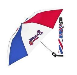 Atlanta Braves Golf Size Folding Umbrella XL Golf Style Cove
