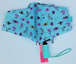 "BETSEY JOHNSON  AUTO OPEN AUTO CLOSE UMBRELLA 42"" COVERAGE N"