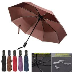 Auto Open/Close Umbrella Anti-UV Sun/Rain Windproof 3 Foldin