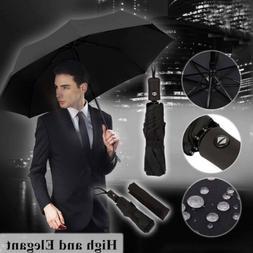 Auto Open/Close Windproof Folding Umbrellas Oversize Large R