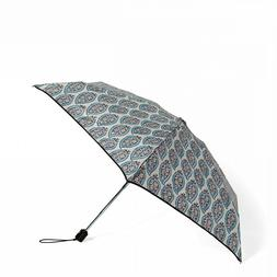 Automatic Vera Bradley Mini Umbrella Paisley Stripe Pattern