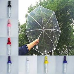 Automatic Open & Close Compact Windproof Folding Umbrella Tr