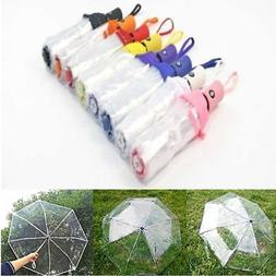 Automatic Open Close Fold Windproof Umbrella Compact Rain Tr
