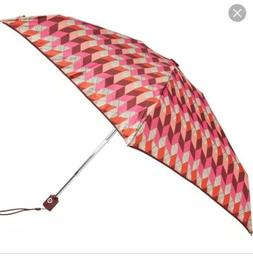 Vera Bradley Automatic Open/Close Mini Umbrella Bohemian Che