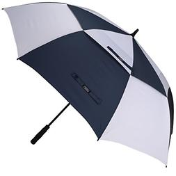 G4Free 68 Inch Automatic Open Golf Umbrella Double Canopy Ex