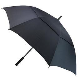 PFFY Automatic Open Golf Umbrella Extra Large Oversize Doubl