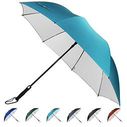 G4Free 62 Inch Automatic Open Golf Umbrella Sun Protection L