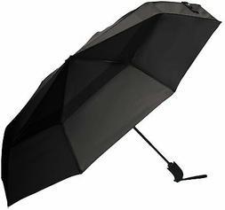 AmazonBasics Automatic Open Travel Umbrella with Wind Vent -