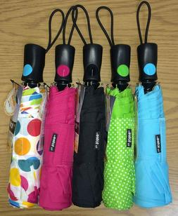 Totes Automatic Rain & Sun Umbrella Large Coverage UPF 50+ C
