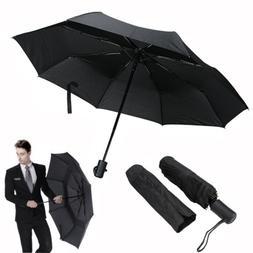 Automatic Travel Umbrella Auto Open Close Compact Folding Ra