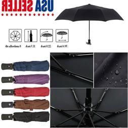 Full Automatic Umbrella Anti-UV Sun Rain Windproof 3 Folding
