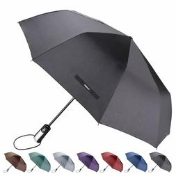 Automatic Travel Umbrella Windproof Auto Open Close 3 Foldin