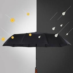 Automatic Travel Umbrella Windproof Auto Open Close Folding