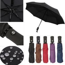 Automatic Umbrella Anti-UV Sun Rain Umbrella Windproof Teflo