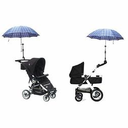 Zcargel Baby Stroller UV Protection Clip-On Umbrella Stand H