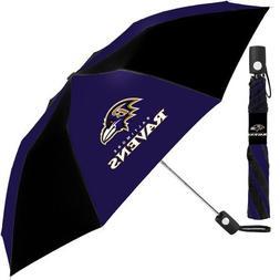 Baltimore Ravens NFL Automatic Folding Umbrella