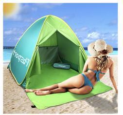 Beach Canopy Teepee Tent OutdoorUmbrella Stand CampingAc