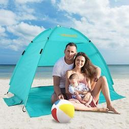 Beach Tent CoolHut Sun Shelter Instant Portable Cabana Shade