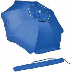 AmazonBasics Beach Umbrella - Blue