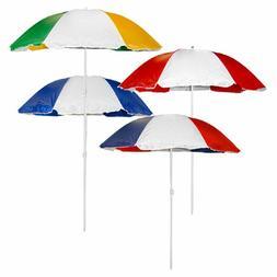 Beach Umbrella Lg 6 ft .Sun Shade Patio Little Tykes Table +