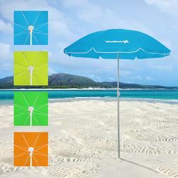 Beach Umbrella Sea Garden Folding Carrying Bag Steel Pole