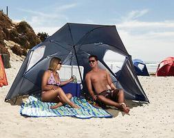 Beach Umbrella Sun Tent Family Pool Camping Sports Folding S