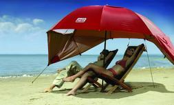 Beach Umbrella Tent Wind Shelter Sports Canopy Cabana Travel