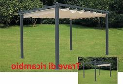 beam replacement mm 30x60x3,96h for pergola arbour 3x4 alumi