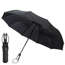 Best Umbrella Collapsible Windproof Foldable Heavy Duty Fold