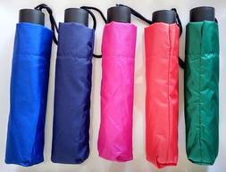 BGG Compact Folding Easy Umbrella Windproof Sun Rain Anti UV