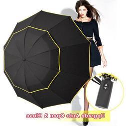 Big Windproof 120cm <font><b>Umbrella</b></font> Rain Women