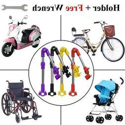 Bike Bicycle Wheelchair Stroller Chair Umbrella Connector Ho