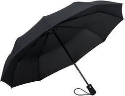 Crown Coast Black 10-Rib Umbrella