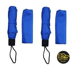 Blue Compact Umbrellas 2 Pack  Ships from Laguna Beach CA US